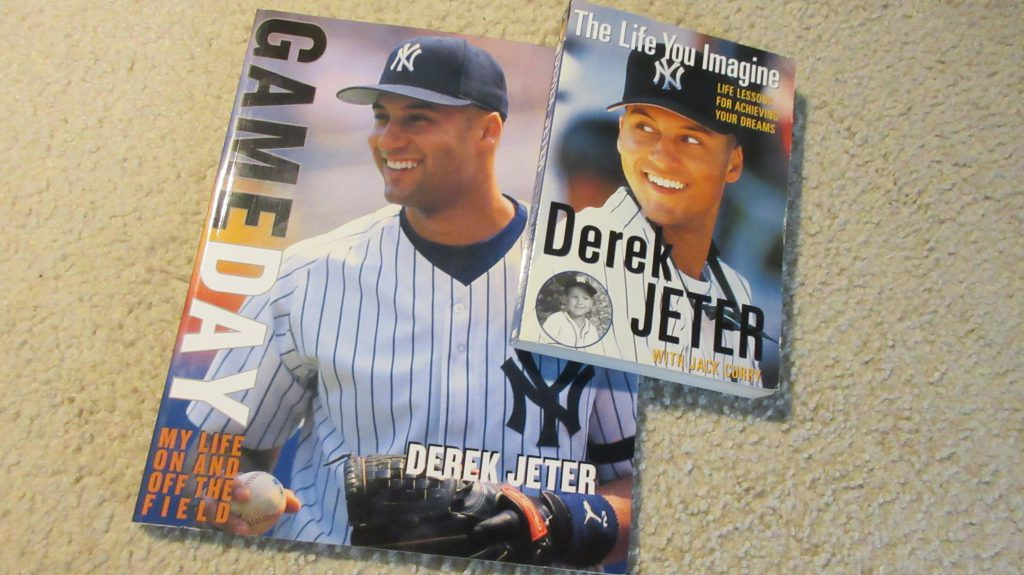 Derek Jeter books -First Blog Post - My Baseball History