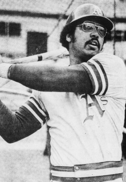 Reggie Jackson in October 1973